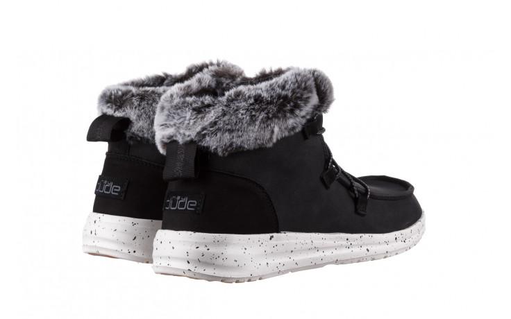 Śniegowce heydude eloise black 003193, czarny, skóra naturalna  - śniegowce - śniegowce i kalosze - buty damskie - kobieta 3