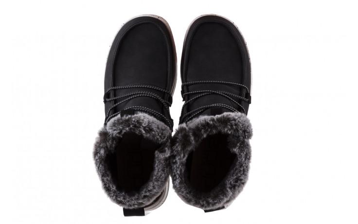 Śniegowce heydude eloise black 003193, czarny, skóra naturalna  - śniegowce - śniegowce i kalosze - buty damskie - kobieta 4