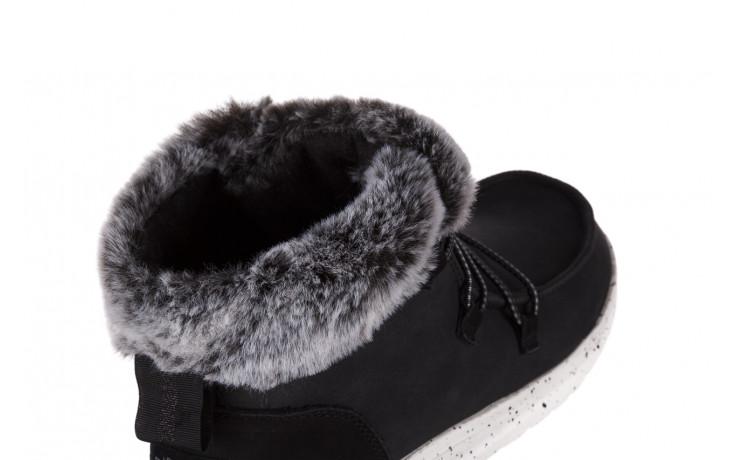 Śniegowce heydude eloise black 003193, czarny, skóra naturalna  - śniegowce - śniegowce i kalosze - buty damskie - kobieta 5