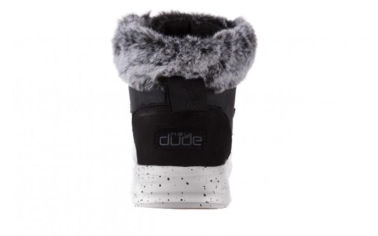 Śniegowce heydude eloise black 003193, czarny, skóra naturalna  - śniegowce - śniegowce i kalosze - buty damskie - kobieta 6