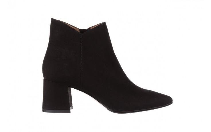 Botki bayla-188 007 czarny 188023, skóra naturalna  - skórzane - botki - buty damskie - kobieta