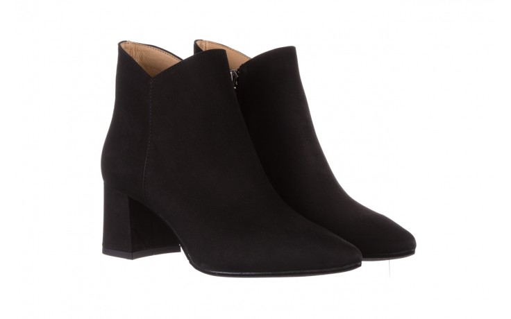 Botki bayla-188 007 czarny 188023, skóra naturalna  - skórzane - botki - buty damskie - kobieta 1