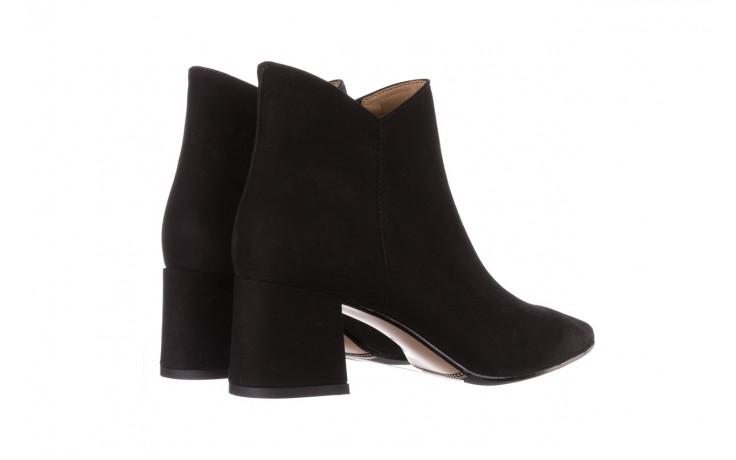 Botki bayla-188 007 czarny 188023, skóra naturalna  - skórzane - botki - buty damskie - kobieta 4