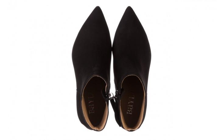 Botki bayla-188 007 czarny 188023, skóra naturalna  - skórzane - botki - buty damskie - kobieta 5