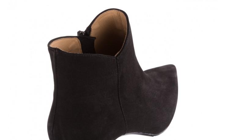 Botki bayla-188 007 czarny 188023, skóra naturalna  - skórzane - botki - buty damskie - kobieta 6