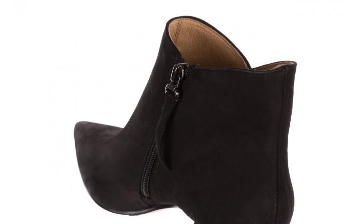 Botki bayla-188 007 czarny 188023, skóra naturalna  - skórzane - botki - buty damskie - kobieta 7