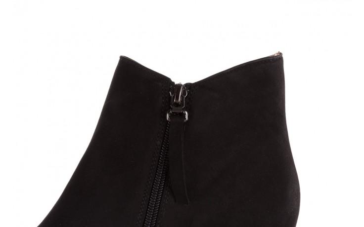 Botki bayla-188 007 czarny 188023, skóra naturalna  - skórzane - botki - buty damskie - kobieta 8