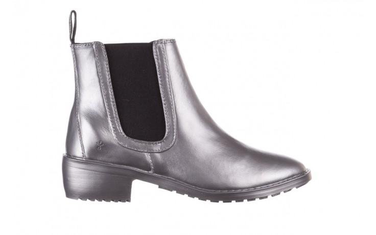 Kalosze emu ellin rainboot silver 119125, srebrny, guma - śniegowce i kalosze - dla niej  - sale
