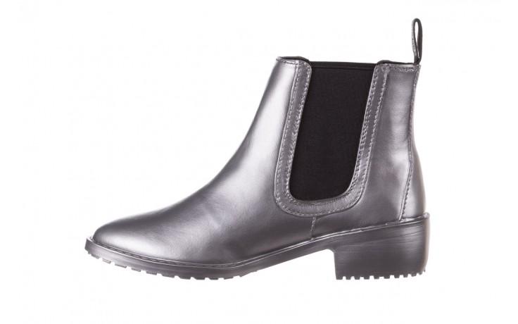 Kalosze emu ellin rainboot silver 119125, srebrny, guma - śniegowce i kalosze - dla niej  - sale 2