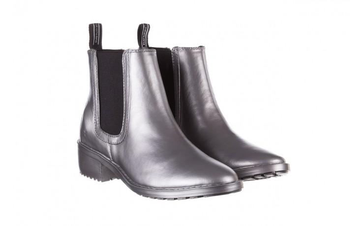 Kalosze emu ellin rainboot silver 119125, srebrny, guma - śniegowce i kalosze - dla niej  - sale 1