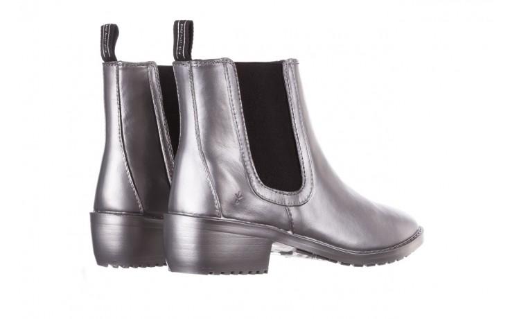 Kalosze emu ellin rainboot silver 119125, srebrny, guma - śniegowce i kalosze - dla niej  - sale 3
