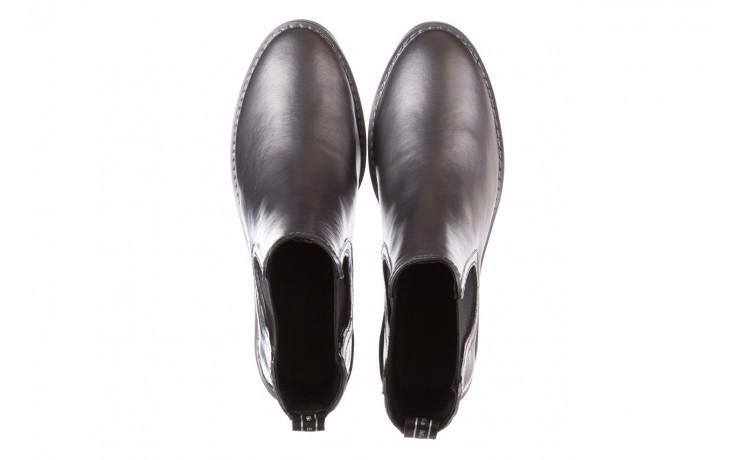 Kalosze emu ellin rainboot silver 119125, srebrny, guma - śniegowce i kalosze - dla niej  - sale 4