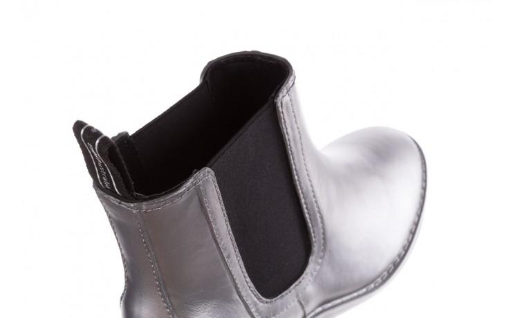 Kalosze emu ellin rainboot silver 119125, srebrny, guma - śniegowce i kalosze - dla niej  - sale 5