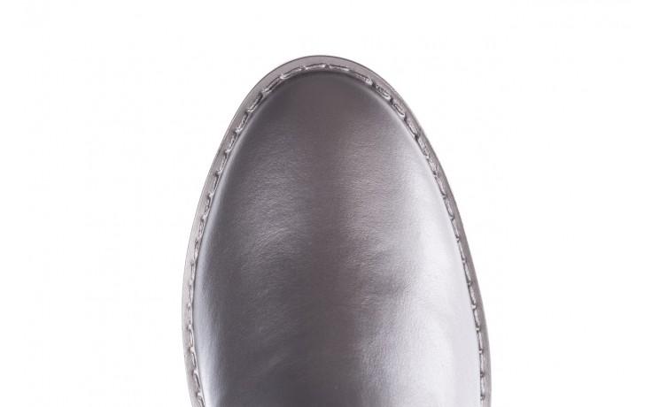 Kalosze emu ellin rainboot silver 119125, srebrny, guma - śniegowce i kalosze - dla niej  - sale 9