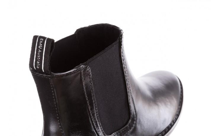 Kalosze emu ellin rainboot black 119126, czarny, guma 5