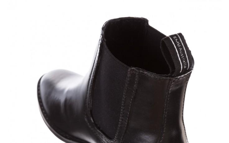 Kalosze emu ellin rainboot black 119126, czarny, guma 6