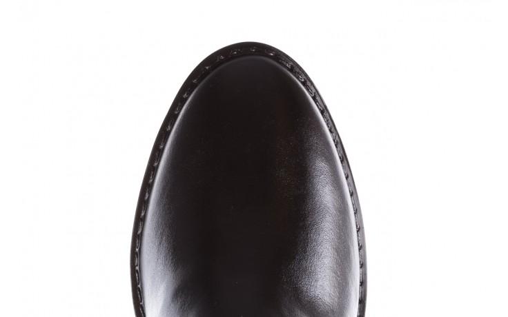 Kalosze emu ellin rainboot black 119126, czarny, guma 9