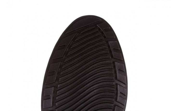Kalosze emu ellin rainboot black 119126, czarny, guma 10