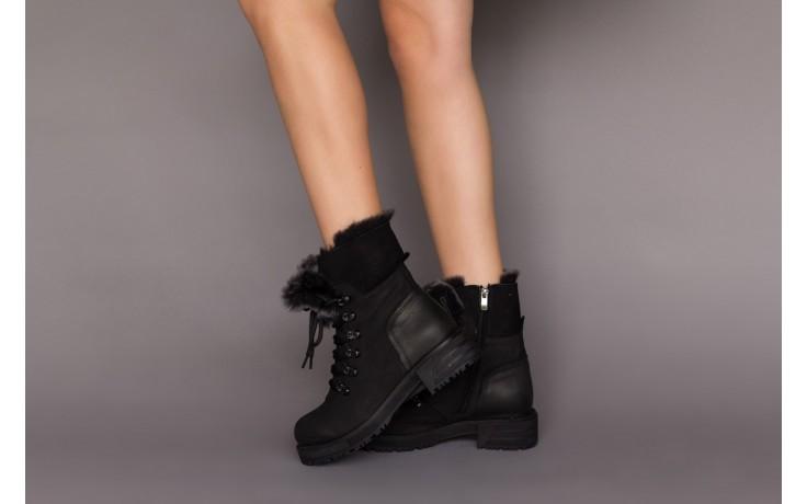 Trzewiki bayla-161 059-2117 black, czarny, skóra naturalna  - trzewiki - buty damskie - kobieta 2