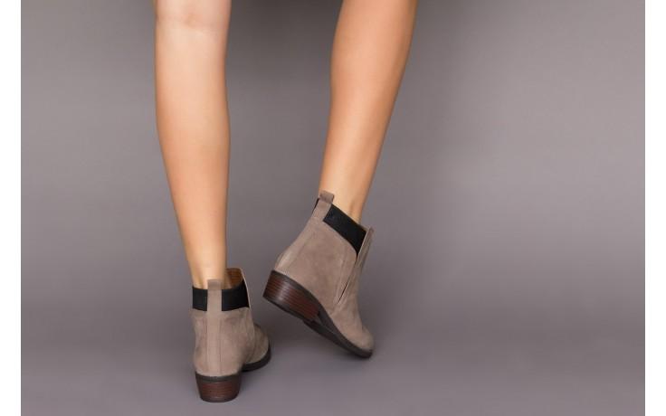Botki bayla-161 061-2004 black, czarny, skóra naturalna  - skórzane - botki - buty damskie - kobieta 2