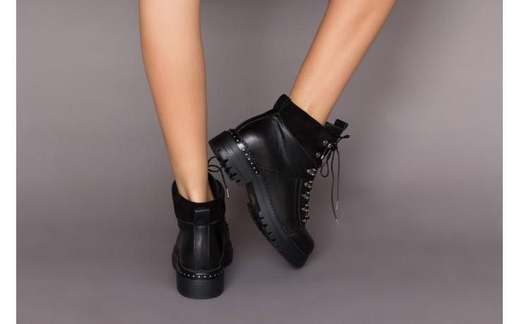 Trzewiki bayla-161 050-7256 black, czarny, skóra naturalna  - trzewiki - buty damskie - kobieta 2