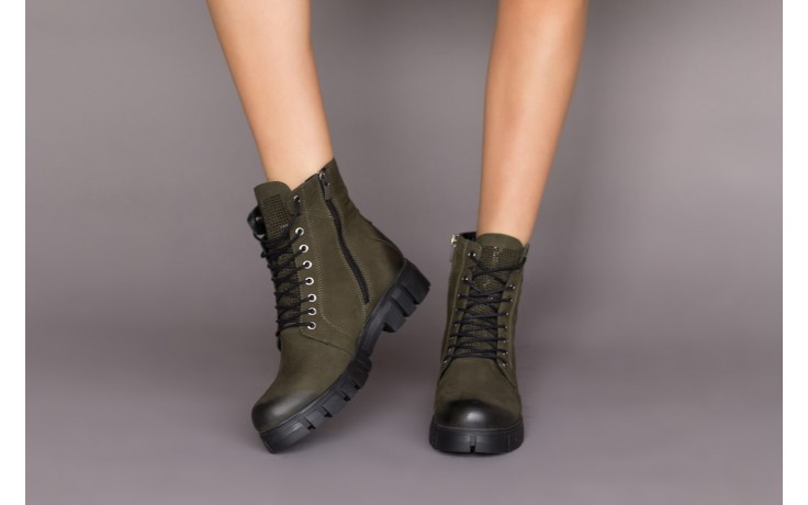 Trzewiki bayla-161 068-8675 black, czarny, skóra naturalna  - trzewiki - buty damskie - kobieta 2