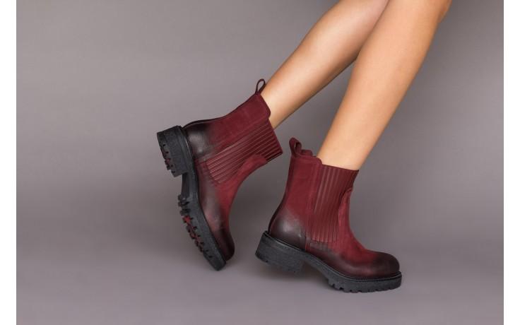 Botki bayla-161 050-0508 black, czarny, skóra naturalna  - skórzane - botki - buty damskie - kobieta 2