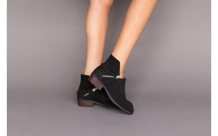 Botki bayla-161 061-2005 black, czarny, skóra naturalna  - skórzane - botki - buty damskie - kobieta 2