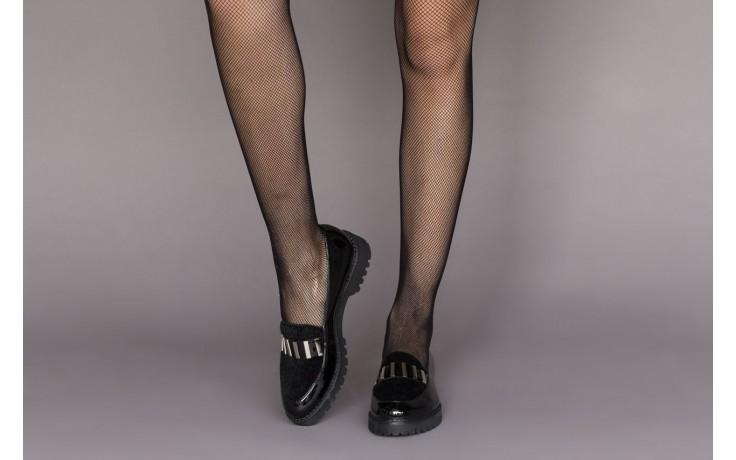 Półbuty bayla-157 b023-126-p czarny, skóra naturalna lakierowana - półbuty - buty damskie - kobieta 2