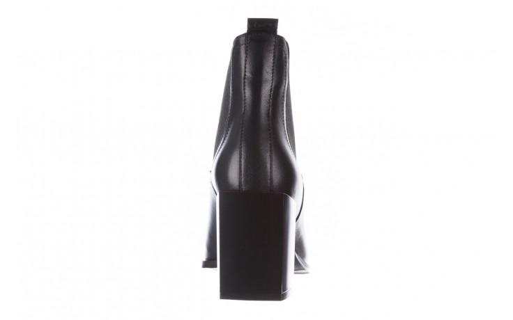 Botki bayla-195 20k-7200 black 195012, czarny, skóra naturalna  - skórzane - botki - buty damskie - kobieta 10