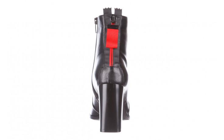 Botki bayla-195 20k-7001 black 195021, czarny, skóra naturalna  - skórzane - botki - buty damskie - kobieta 9