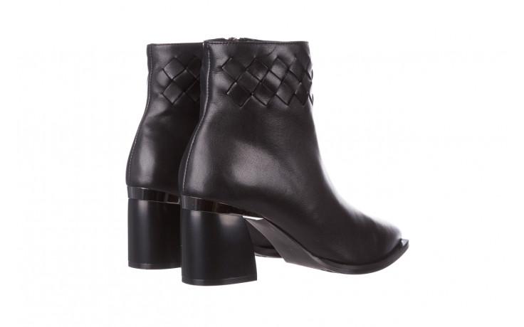 Botki bayla-195 20k-6811 black 195005, czarny, skóra naturalna  - skórzane - botki - buty damskie - kobieta 4