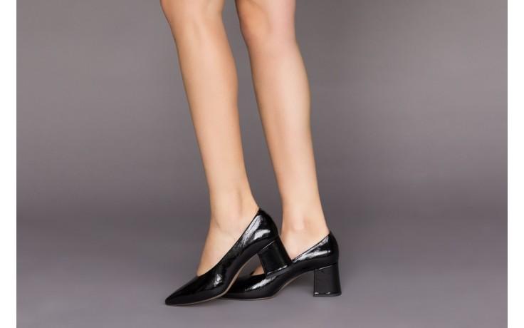 Czółenka bayla-188 029 czarny, skóra naturalna lakierowana - skórzane - czółenka - buty damskie - kobieta 2