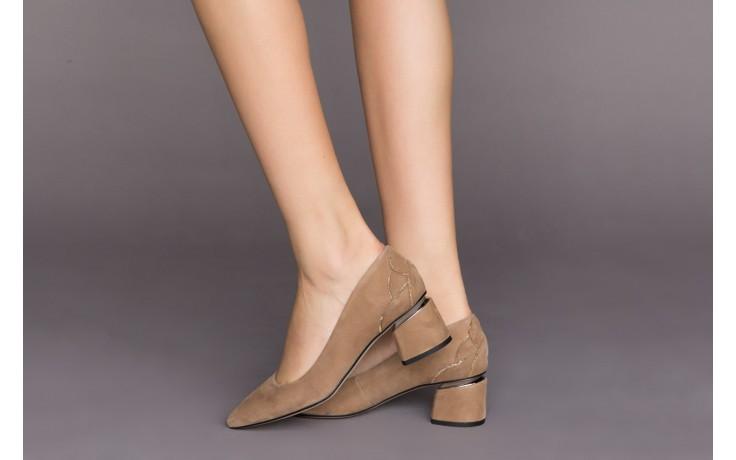 Czółenka bayla-188 030 beż, skóra naturalna - czółenka - buty damskie - kobieta 2