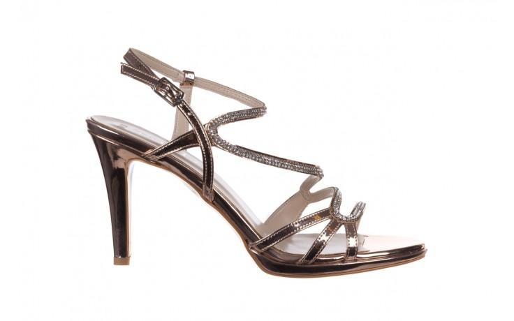 Sandały bayla-187 587-531 róż, skóra ekologiczna  - na obcasie - sandały - buty damskie - kobieta