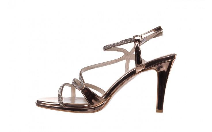 Sandały bayla-187 587-531 róż, skóra ekologiczna  - na obcasie - sandały - buty damskie - kobieta 2