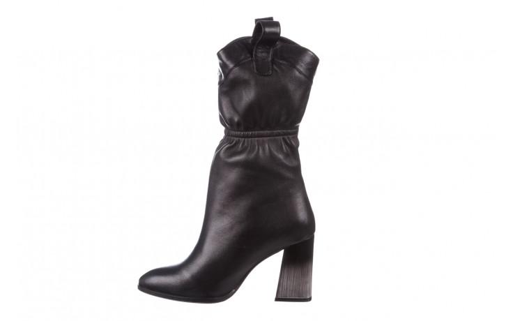Kozaki bayla-195 20k-7002 black 195008, czarny, skóra naturalna  - kozaki - buty damskie - kobieta 3