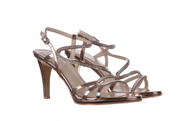 Sandały bayla-187 587-531 róż, skóra ekologiczna  - na obcasie - sandały - buty damskie - kobieta 1