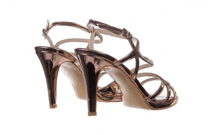 Sandały bayla-187 587-531 róż, skóra ekologiczna  - na obcasie - sandały - buty damskie - kobieta 3