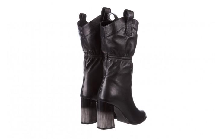 Kozaki bayla-195 20k-7002 black 195008, czarny, skóra naturalna  - kozaki - buty damskie - kobieta 4