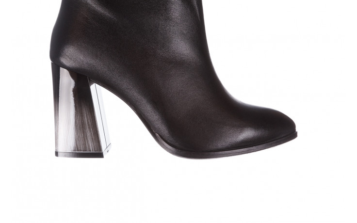 Kozaki bayla-195 20k-7002 black 195008, czarny, skóra naturalna  - kozaki - buty damskie - kobieta 5
