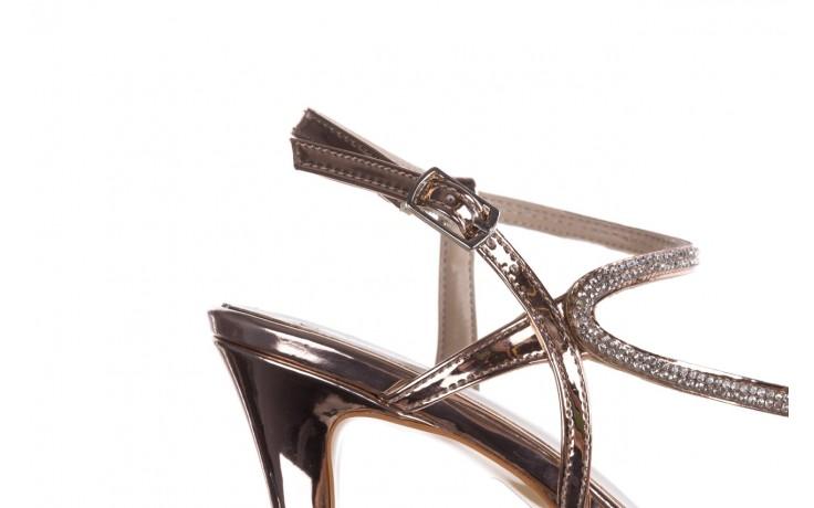 Sandały bayla-187 587-531 róż, skóra ekologiczna  - na obcasie - sandały - buty damskie - kobieta 6