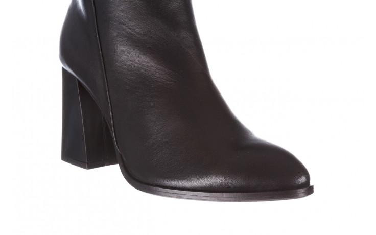 Kozaki bayla-195 20k-7007 black 195011, czarny, skóra naturalna  - kozaki - buty damskie - kobieta 5