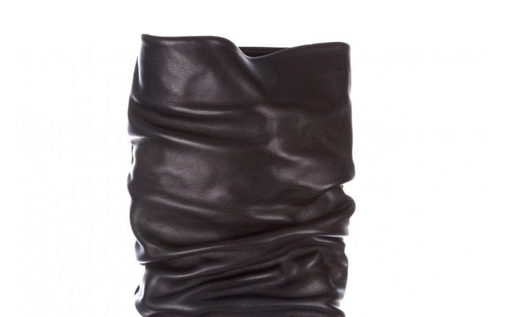 Kozaki bayla-195 20k-7007 black 195011, czarny, skóra naturalna  - kozaki - buty damskie - kobieta 8