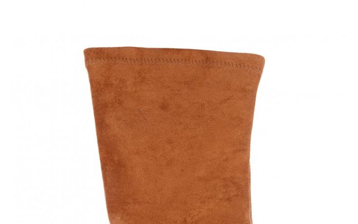 Kozaki bayla-056 9725-1799 karmel 056521, brąz, skóra naturalna  - bayla - nasze marki 8