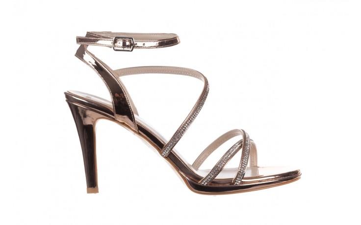Sandały bayla-187 587-9078 róż j, skóra ekologiczna  - szpilki - buty damskie - kobieta