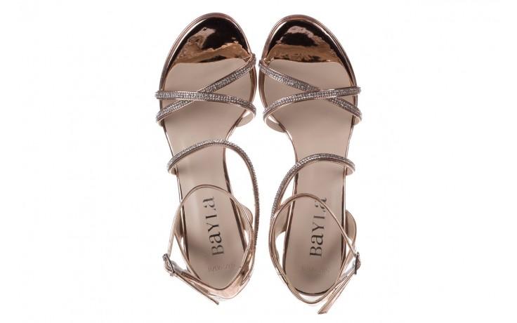 Sandały bayla-187 587-9078 róż j, skóra ekologiczna  - szpilki - buty damskie - kobieta 4