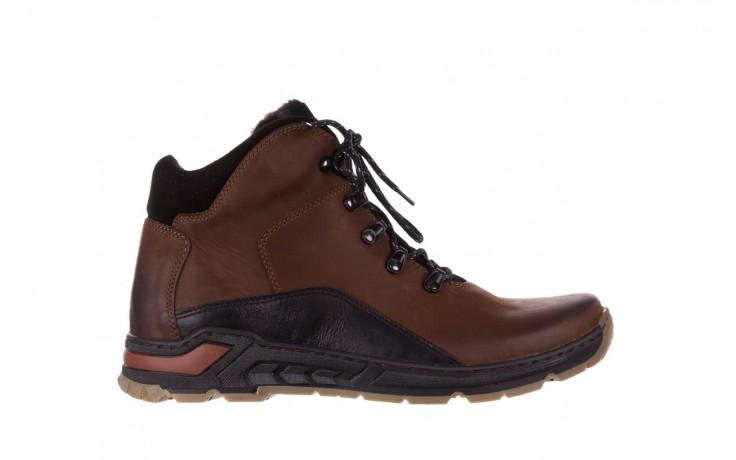 Półbuty bayla-081 903 cuoio, brąz, skóra naturalna  - trzewiki - buty męskie - mężczyzna