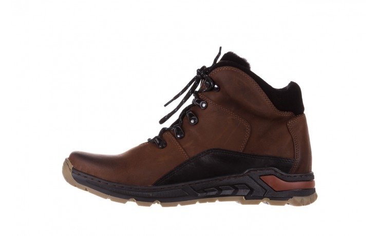 Półbuty bayla-081 903 cuoio, brąz, skóra naturalna  - buty męskie - mężczyzna 2