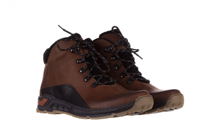 Półbuty bayla-081 903 cuoio, brąz, skóra naturalna  - trzewiki - buty męskie - mężczyzna 1